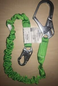 Miller 6 Manyard Ii Polyester Web Single leg Shock absorbing Safety Lanyard