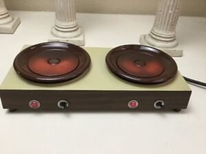 Vintage Coffee Warmer Bloomfield Commercial Double Electric Hot Plate Works