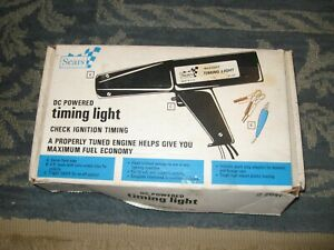 Sears Dc Power Timing Light 21581 M 19877