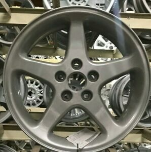 Ford Mustang 2001 Wheel 17x8 5 Spoke Cobra Painted Silver Sparkle