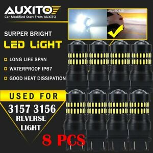 8x 3157 4157 3057 Led Drl Driving Daytime Running Light Bulb 6000k White Us Edo