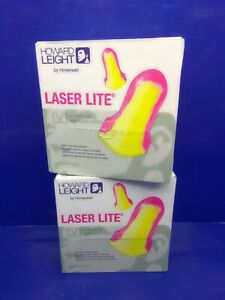 400 Pair Howard Leight Laser Lite High Visibility Disposable Foam Earplug Ll 1