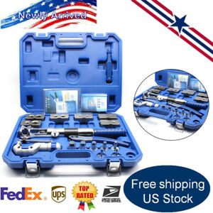 Universal Hydraulic Expander Flaring Tool Pipe Fuel Line Us Stock