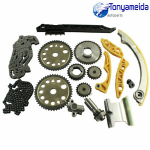 For Gm 00 11 2 0l 2 2l 2 4l Ecotec Engine Timing Chain W Balance Shaft Kit L61