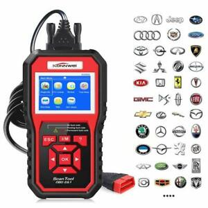 Obd2 Auto Diagnostic Tool Obdii Code Reader Scanner Srs Abs Airbag Many Brands