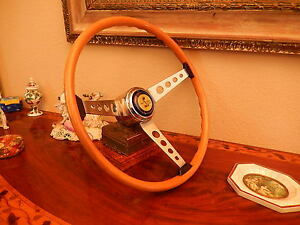 Shelby 67 Cobra Gt500 Effpi Wood Steering Wheel Original 1967 Nos New