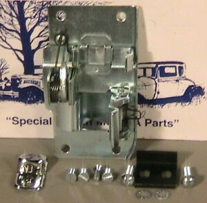 1928 1929 Model A Ford Ratrod Streetrod Lh Door Latch Set Coupes