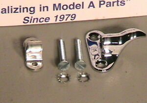 1930 1931 Model A Ford Ratrod Streetrod Front Rear Deluxe Hood Hinge Retainers
