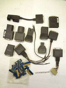 Snap On Adapter Personality Key Lot Obdii Mt2500 Solus Modis Ethos Scanners