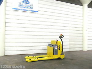 2008 Yale Mpw065 6 500 Electric Pallet Jack New Battery Nice