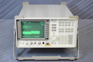 Hp 8563e 006 007 Calibrated On Jan 2019 Portable Spectrum Analyzer 9khz 26ghz
