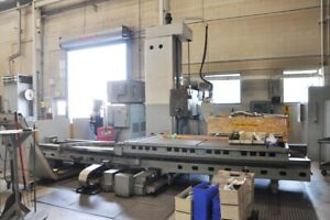 1983 60gt 6 Giddings Lewis Cnc Table Type Horizontal Boring Mill