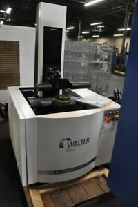 2012 Walter Model Helicheck Basic 2 Optical Cnc Measuring Machine
