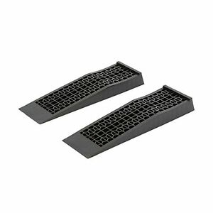 Discount Ramps 6009 V2 Low Profile Plastic Car Service Ramps 2 Pack