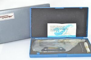 New Fowler 3 4 Outside Micrometer 0001 Storage Case