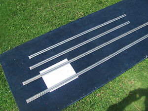 1963 Ford Fairlane Side Moulding Set Series 300 Two door