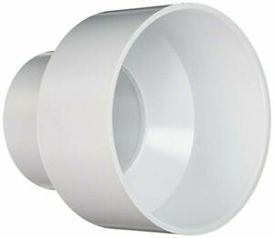 Pvc Hub Reducer Couplings 4 In X 6 In Pipe Fittings Sewer Drain Pipe Connect