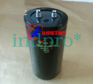 New Electrolytic Capacitor 12000uf 450v 75x145mm