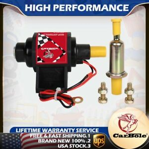 42s 12v 42s Universal Electric Fuel Pump Applications 42 Gph 2 3 5 Psi 3 8 Inch