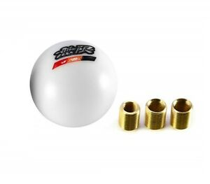 Jdm Universal Mugen White Ball Shift Knob For Accord Rsx Cr Z Civic Type R S2000