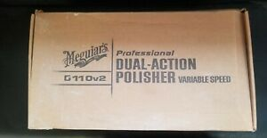 Brand New Meguairs Professional Electric Dual Action Polisher G110v2 With Bag