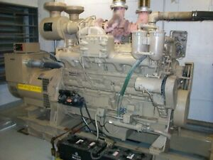 Cummins Standby continuous Power Diesel Generator Set 350 Kwh 3ph 208v Or 480v