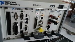 Pxi 1000 With Cards national Instruments