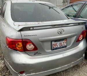 Trunk Hatch Tailgate With Spoiler Fits 2009 2010 Toyota Corolla