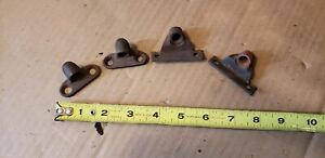 Four 28 29 30 31 Ford Model A Hood Retainer Piece Parts Lot Coupe Sedan Truck