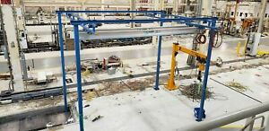 Gorbel 250 Lb Capacity Double Girder Bridge Crane