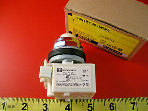 Square D 9001 Kp38lww31 Pilot Light Switch Km38lw J 120v Ac dc 9001kp38lww31 New
