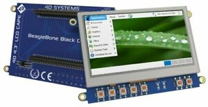 4 3 Lcd tft Display With Resistive Touch For Beaglebone Black