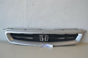 1996 1997 1998 Honda Civic Coupe Hatchback Gray Front Grill Oem Grille 64 4w3