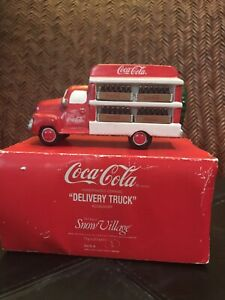 Dept 56 Coca Cola Delivery Truck original box
