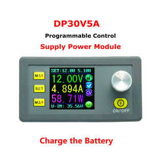 Dp30v 5a Constant Volt Current Power Step down Programmable Power Supply Module