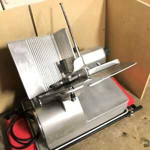 Hobart 1712 2 Speed Auto Meat Cheese Deli Slicer