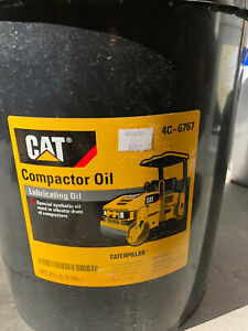 5 Gallon Pail Cat Caterpillar Compactor Oil 4c 6767 Free Shipping