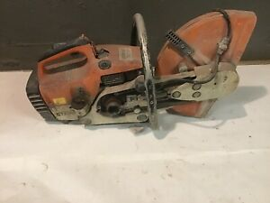 Parts Or Repair Stihl Ts400 Gas Powered 14 Concrete Demo Cut Off Saw