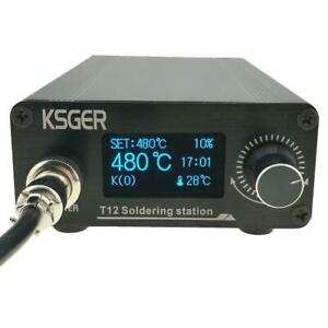 Ksger T12 Soldering Station Diy Kits Electric Welding Soldering Iron Set Tool