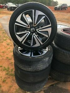 2016 2017 Honda Civic Wheels Rims And Tires Set Of 4 Four Oem