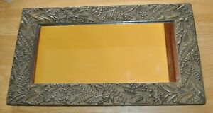 Victorian 1870s Aesthetic Gilt Gesso Wood Antique Picture Frame W Free Ship