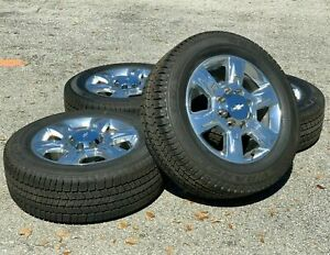 20 2018 Chevy Silverado 2500 Wheels Rims Tires Factory Original Gmc Sierra 3500