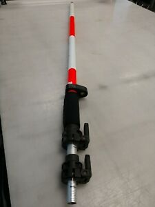 Chicago Steel Tape 12 Prism Pole W Quick Release Level Tlv Surverying Seco