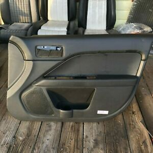 2010 2012 Ford Fusion Passenger Side Rh Door Panel Leather Oem Se Sel