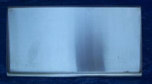 Restaurant Equipment Stainless Steel Wall Mounted Titled Shelf 42 L X 19 W