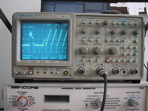 Tektronix 2440 300mhz Oscilloscope Refurb Cal Guaranty Opt 5tv Avail