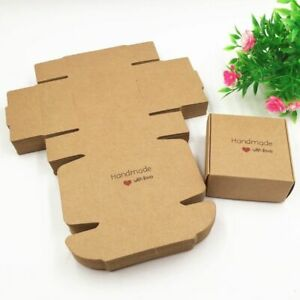 Craft Paper Aircraft Gift Boxes Handmade Soap Packing Box Storage Paper Boxes