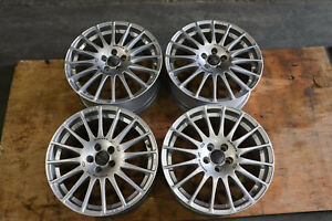 Jdm Oz Racing Superturismo Gt Matt Wheels 5x100 Rims 17x7 5 Et48 Made In Italy