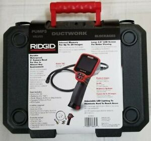 Ridgid Micro Ca 150 Inspection Camera Ft Cable Waterproof Head Image Capture