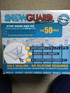 Snow Guard 50 mini 1 5 in X 4 in Polycarbonate Roof Cleat New Fast Free Shipping
